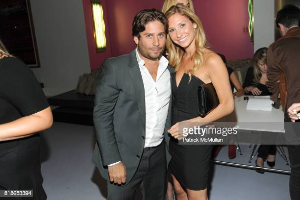 Michael Heller and Laura Rose attend INSTITUTE FOR CIVIC LEADERSHIP 2010 Spring Benefit at DVF Studio on June 15 2010 in New York City