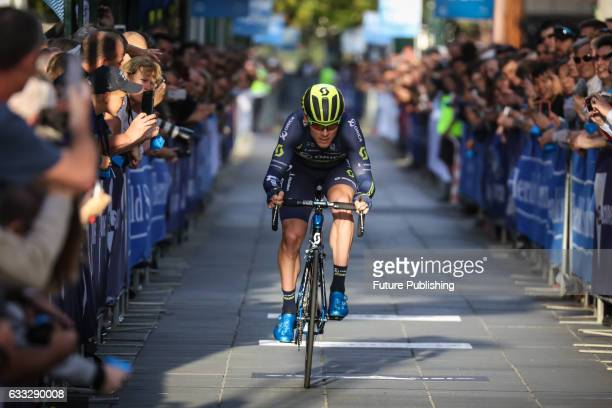Michael Hepburn of Orica Scott completing the Prologue stage on the first day of the Jayco Herald Sun Tour 2017 on February 01 2017 in Melbourne...
