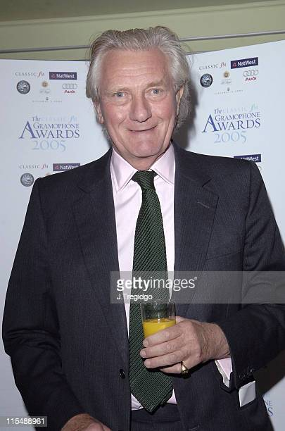 Michael Heseltine during 2005 Gramophone Awards at Dorchester Hotel in London Great Britain