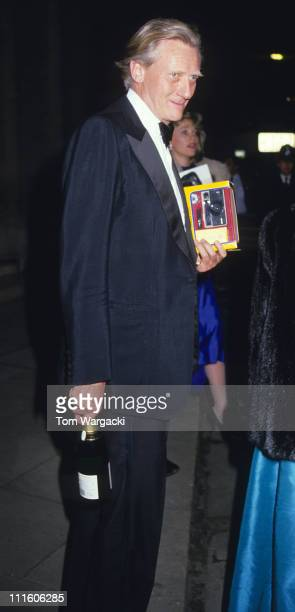 Michael Heseltine during Michael Heseltine at Conservative Party Annual Ball 1989 in London Great Britain