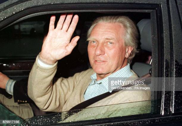 Michael Heseltine leaves Horton General Hospital in Banbury this evening to travel to see his specialist at the Harley Street Clinic in London where...