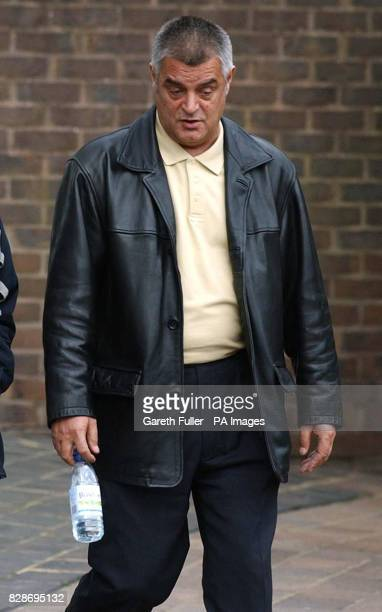Michael Hicks from Glasgow leaves Maidstone Crown Court after denying being involved in a tobacco smuggling operation * The Court was told that...