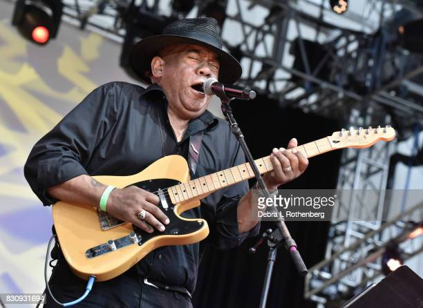 Michael Hill Performs during The Jayhawks A Celebration of Chuck Berry With Musical Director Vernon Reid and Low Cut Connie at Damrosch Park Lincoln...