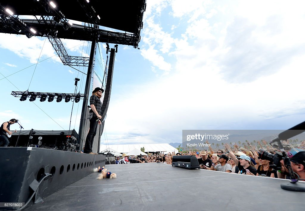 <a gi-track='captionPersonalityLinkClicked' href=/galleries/search?phrase=Michael+Hobby&family=editorial&specificpeople=8415982 ng-click='$event.stopPropagation()'>Michael Hobby</a> of the band A Thousand Horses performs during 2016 Stagecoach California's Country Music Festival at Empire Polo Club on May 01, 2016 in Indio, California.