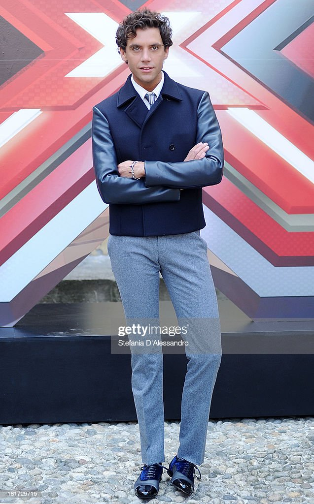 Michael Holbrook Penniman known as Mika attends X Factor 2013 Photocall at La Fonderia Napoleonica on September 24, 2013 in Milan, Italy.