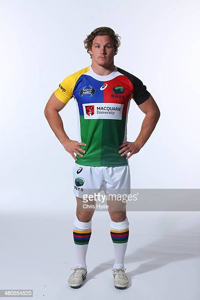 Michael Hooper of the North Harbour Rays poses during the 2015 National Rugby Championship portrait shoot on July 8 2015 in Sunshine Coast Australia