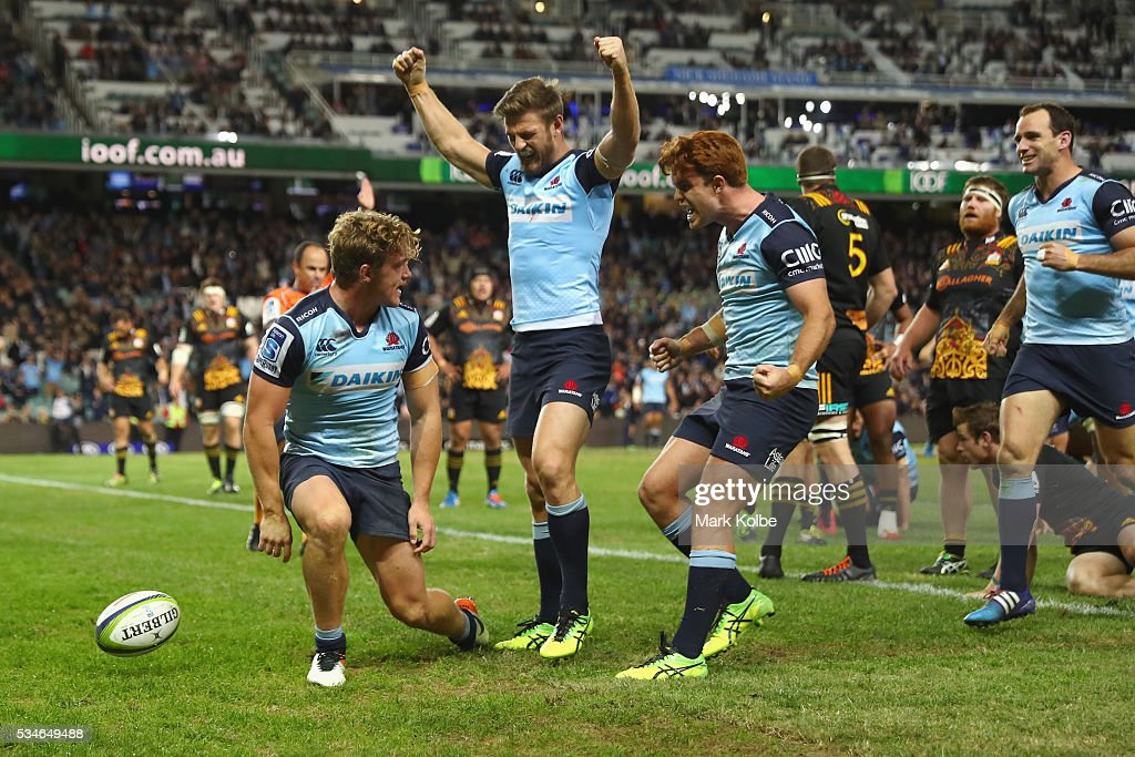 Super Rugby Rd 14 - Waratahs v Chiefs