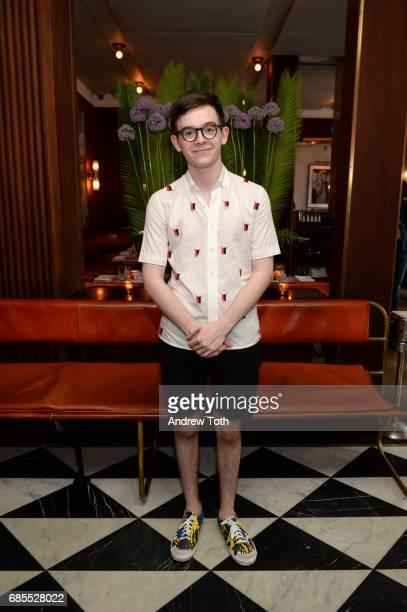 Michael Hope attends the Gucci x Angelica Hicks private dinner celebration on May 18 2017 in New York City