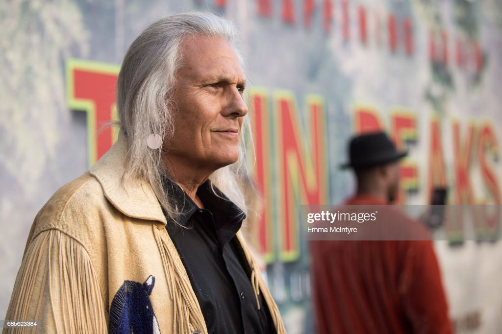 Michael Horse attends the premiere of Showtime's 'Twin Peaks' at Ace Hotel on May 19, 2017 in Los Angeles, California.