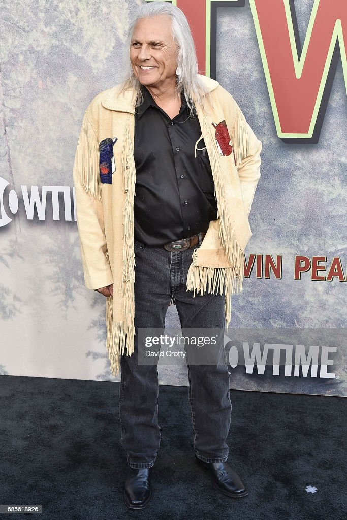 Michael Horse attends the World Premiere Of Showtime's 'Twin Peaks' - Arrivals at The Theatre at Ace Hotel on May 19, 2017 in Los Angeles, California.