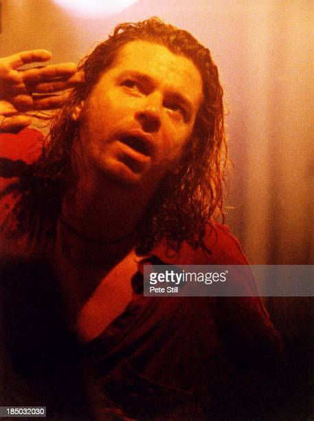 Michael Hutchence of INXS performs on stage at the Astoria Theatre on July 20th 1993 in London England