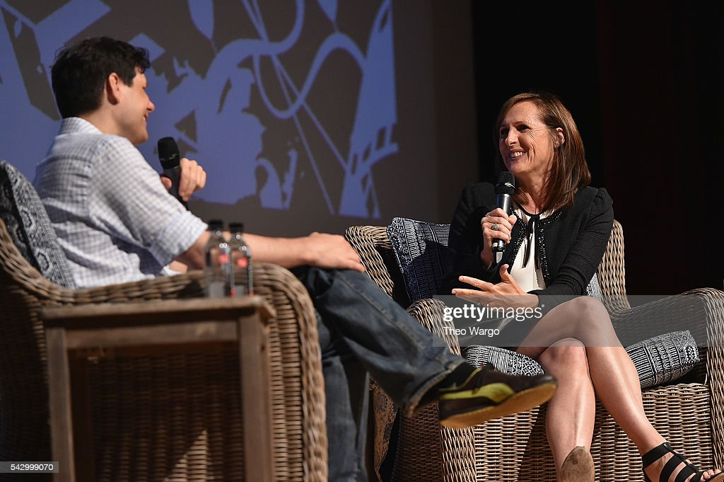Michael Ian Black and Molly Shannon during the Compass Rose Acting awards during the 2016 Nantucket Film Festival Day 4 on June 25, 2016 in Nantucket, Massachusetts.
