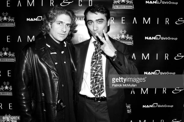 Michael Imperioli and Arthur Rubinoff attend REAMIR CO Launch Party for their new 'SIGNITURE PRODUCTS' Performance by MICHAEL IMPERIOLI LA DOLCE VITA...
