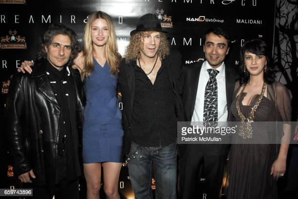 Michael Imperioli Linda Vojtova David Bryan Arthur Rubinoff and Marina Rubinoff attend REAMIR CO Launch Party for their new 'SIGNITURE PRODUCTS'...