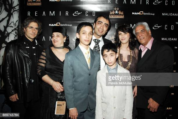 Michael Imperioli Mother Rubinoff Itzick Rubinoff Arthur Rubinoff Raffiel Rubinoff Marina Rubinoff and Dominick Mancino attend REAMIR CO Launch Party...