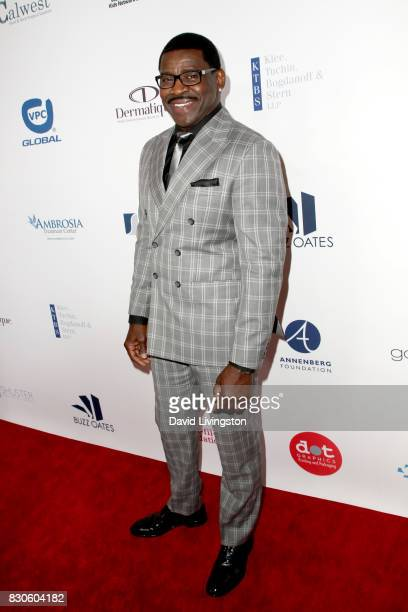 Michael Irvin at the 17th Annual Harold Carole Pump Foundation Gala at The Beverly Hilton Hotel on August 11 2017 in Beverly Hills California