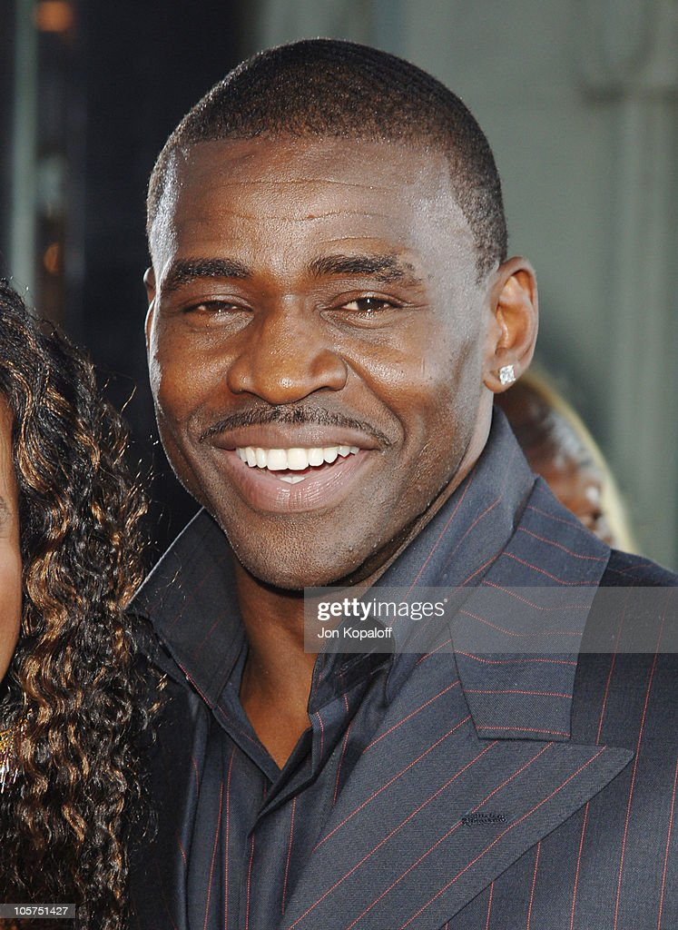 <a gi-track='captionPersonalityLinkClicked' href=/galleries/search?phrase=Michael+Irvin&family=editorial&specificpeople=218074 ng-click='$event.stopPropagation()'>Michael Irvin</a> during 'The Longest Yard' Los Angeles Premiere - Arrivals at Grauman's Chinese Theater in Hollywood, California, United States.