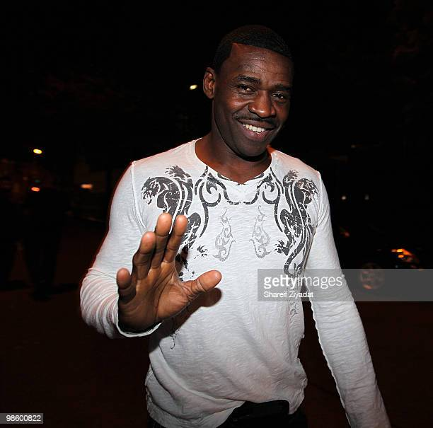 Michael Irving attends the 2nd annual Celebrity Draft Classic at Amnesia NYC on April 20 2010 in New York City