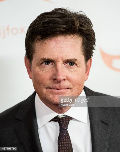 Michael J Fox attends the Michael J Fox Foundation's 'A Funny Thing Happened On The Way To Cure Parkinson's' Gala at The Waldorf=Astoria on November...