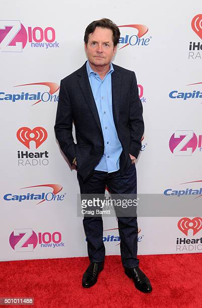 Michael J Fox attends Z100's Jingle Ball 2015 at Madison Square Garden on December 11 2015 in New York City