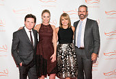 Michael J Fox Tracy Pollan Katie Couric and John Molner attend the Michael J Fox Foundation's 'A Funny Thing Happened On The Way To Cure Parkinson's'...