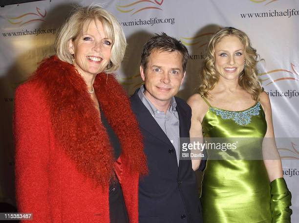 Michael J Fox wife Tracy Pollan and Meredith Baxter