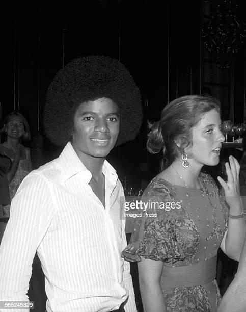 Michael Jackson and Caroline Kennedy circa 1970s in New York City