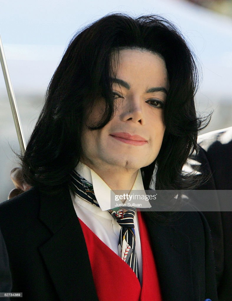 <a gi-track='captionPersonalityLinkClicked' href=/galleries/search?phrase=Michael+Jackson&family=editorial&specificpeople=70011 ng-click='$event.stopPropagation()'>Michael Jackson</a> arrives at the Santa Barbara County courthouse April 29, 2005 in Santa Maria, California. Jackson is charged in a 10-count indictment with molesting a boy, plying him with liquor and conspiring to commit child abduction, false imprisonment and extortion.