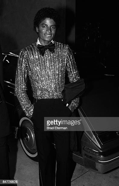 LOS ANGELES JANUARY 01 1978 Michael Jackson at an Grammy Awards reception at Chasen's restaurant circa 1978 in Los Angeles California **EXCLUSIVE**