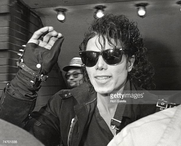 Michael Jackson at the Brooklyn Subway in New York City New York