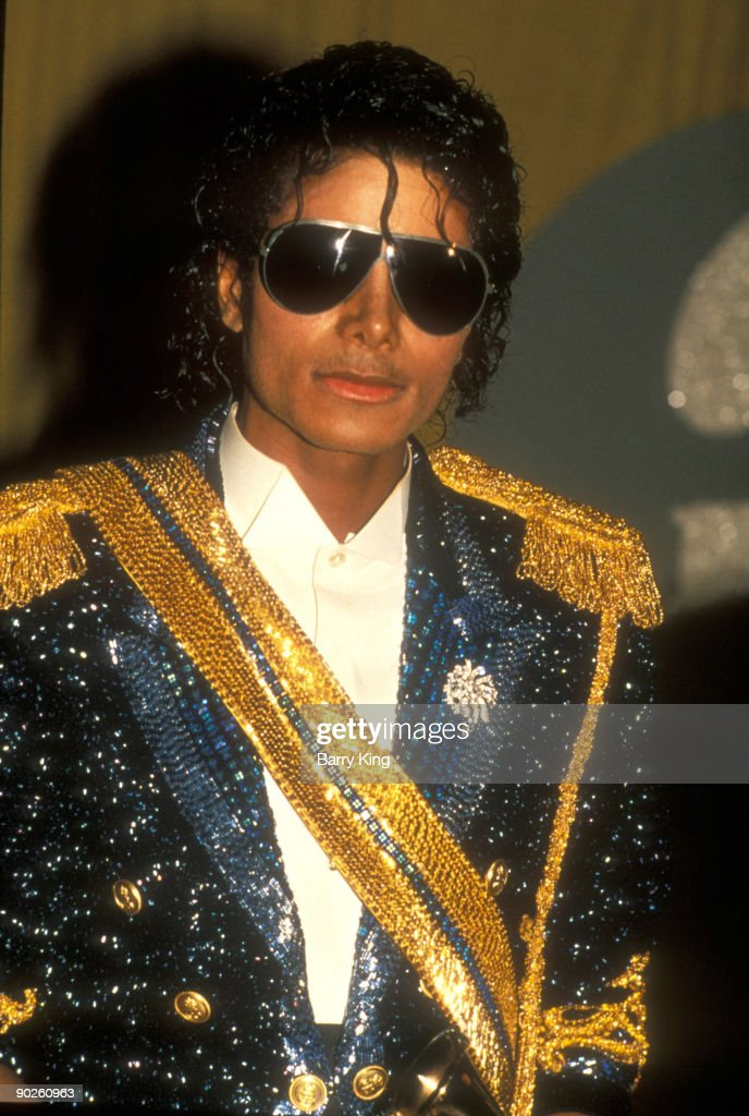 Michael Jackson at the Grammys in Los Angeles, California on February 28, 1984