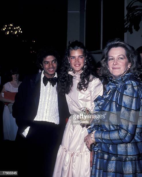 Michael Jackson Brooke Shields and Terri Shields