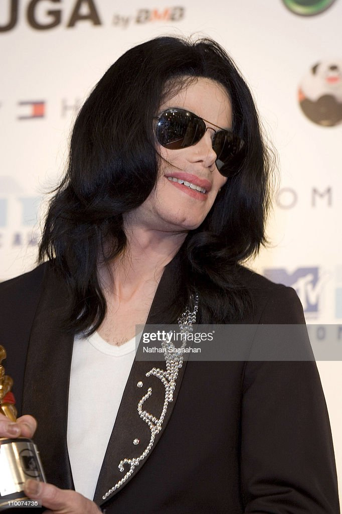 Michael Jackson during MTV Video Music Awards Japan 2006 - Press Room at Yoyogi National Stadium in Tokyo, Japan.