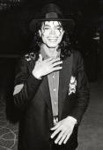 Michael Jackson during Opening of Donald Trump's Taj Mahal Casino April 5 1990 at Taj Mahal Hotel and Casino in Atlantic City New Jersey United States