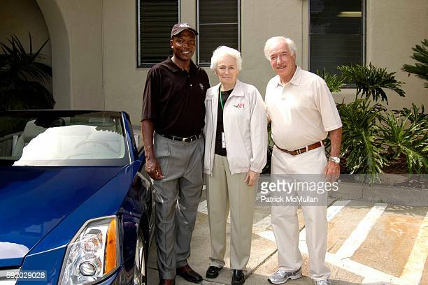 Michael Jackson Jean Picker Firstenberg and Bud Yorkin attend 8th Annual American Film Institute Golf Classic Presented By General Motors at Riviera...
