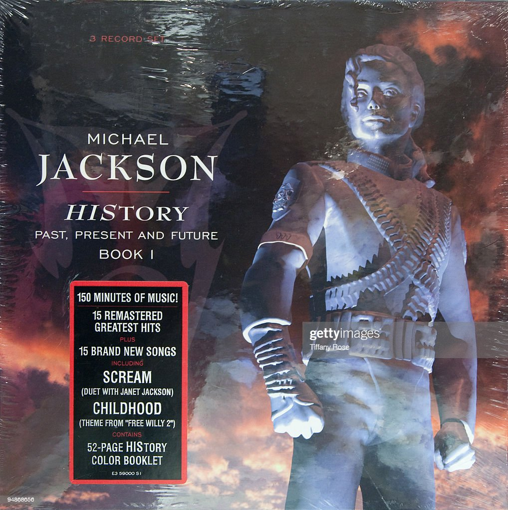 A Michael Jackson never opened 'HIStory' record album (1995) at the Auction Preview At Bonhams & Butterfields on December 18, 2009 in Los Angeles, California.