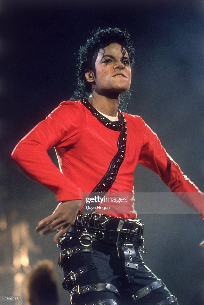 Michael Jackson performing on stage during his 'Bad' World Tour in TokyoJapan on the 14th of September 1987
