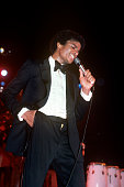 Michael Jackson performing on stage with The Jacksons on their Destiny Tour at the Municipal Auditorium on October 31979 in New Orleans Louisiana