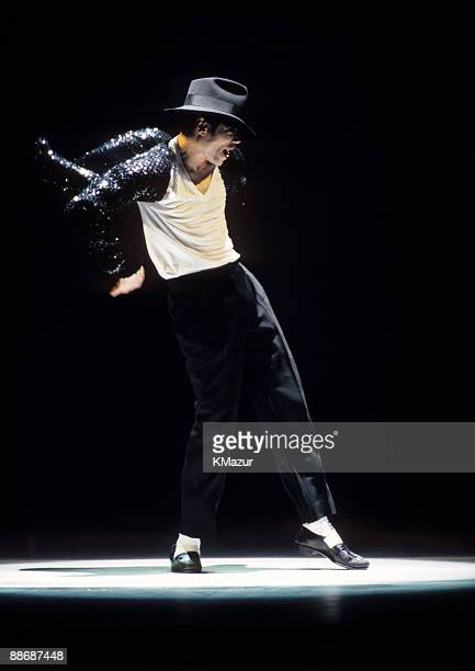 Michael Jackson performs at the 12th Annual MTV Movie Awards at Radio City Music Hall in New York City on September 7 1995