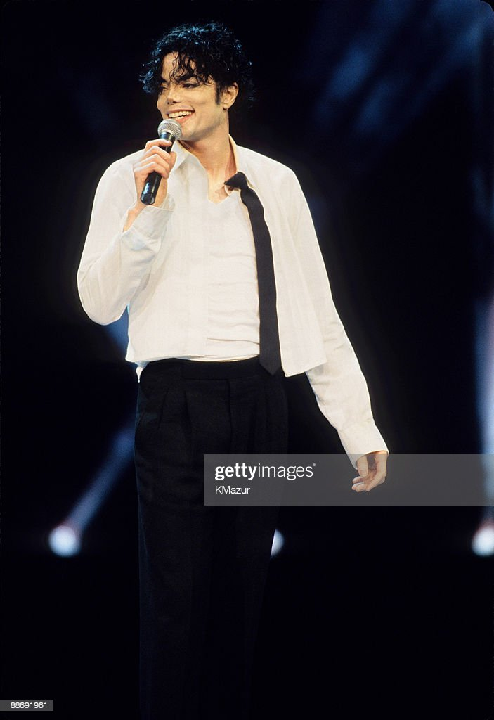 Michael Jackson performs at the 12th Annual MTV Video Music Awards at Radio City Music Hall on September 7, 1995 in New York City.