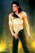 Michael Jackson performs in concert circa 1990