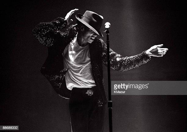 JULY 11 2009** Michael Jackson performs in concert circa 1995