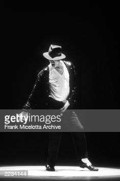 Michael Jackson performs on the 1995 MTV Video Music awards at Radio City Music Hall in New York City September 8 1995 Photo by Frank...