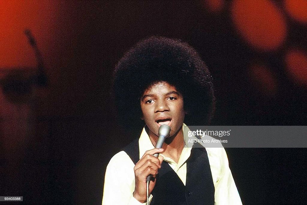 BANDSTAND - 1/25/1975, Michael Jackson performs 'We're Almost There' on American Bandstand.,