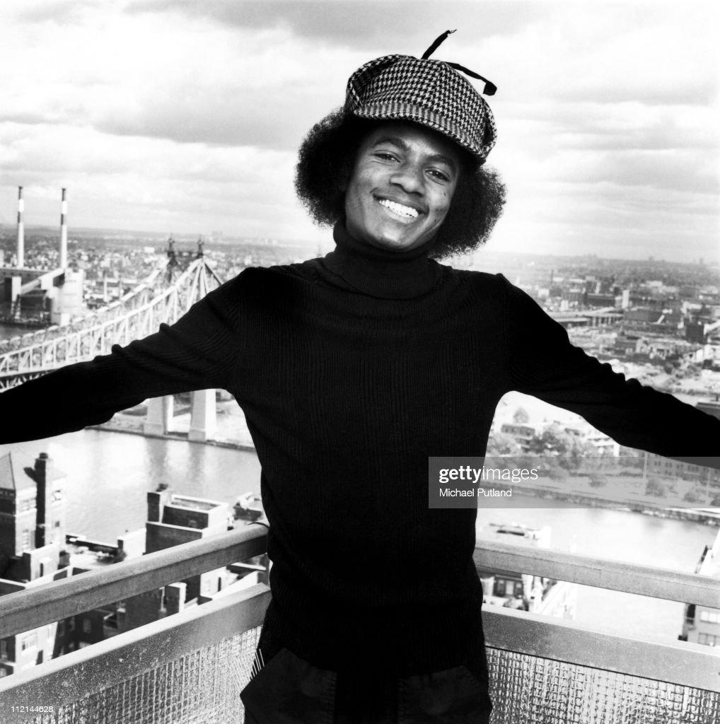 Michael Jackson, portrait, New York, 1977.