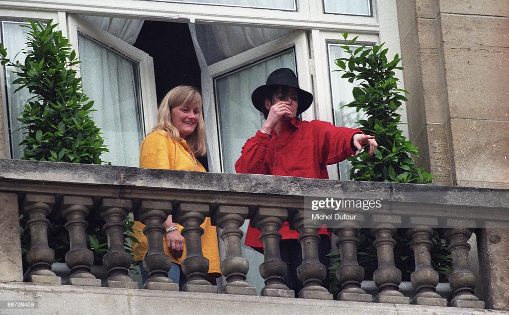 Michael Jackson In France - File Photos
