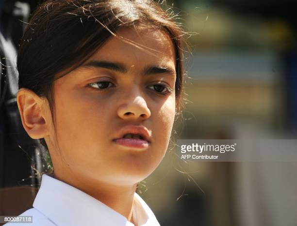 Michael Jackson's son Blanket Jackson attends a ceremony honoring his father at Childrens Hospital in Los Angeles California August 8 2011 Michael...