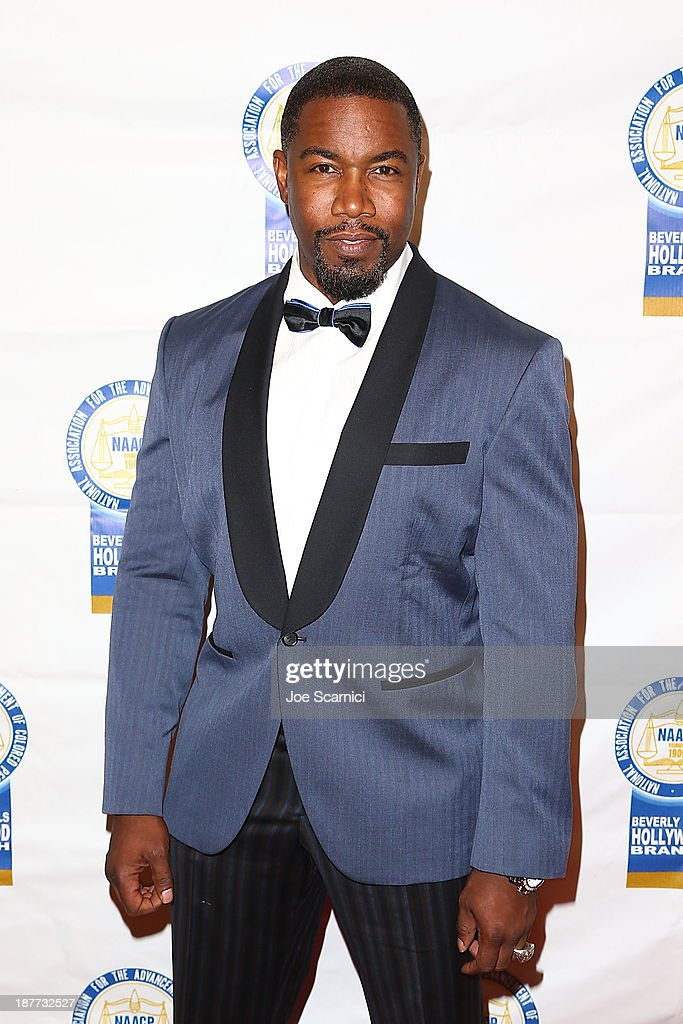 <a gi-track='captionPersonalityLinkClicked' href=/galleries/search?phrase=Michael+Jai+White&family=editorial&specificpeople=1194842 ng-click='$event.stopPropagation()'>Michael Jai White</a> arrives at the 23rd annual NAACP Theatre Awards at Saban Theatre on November 11, 2013 in Beverly Hills, California.