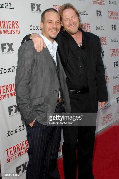 Michael James and Daniel Logue attend Screening Of FX's 'Terriers' at ArcLight Cinemas on September 7th 2010 in Hollywood California
