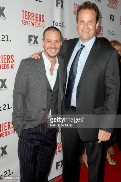 Michael James and Ted Griffin attend Screening Of FX's 'Terriers' at ArcLight Cinemas on September 7th 2010 in Hollywood California